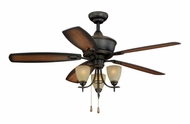 Vaxcel FN52997OR Sebring Oil Rubbed Bronze Finish 52  Wide Ceiling Fan