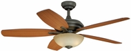 Vaxcel FN52998OR Valencia Oil Rubbed Bronze Finish 19 Tall Ceiling Fan