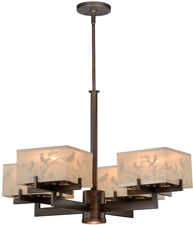 Vaxcel H0041 Aviary Venetian Bronze Finish 73 Tall Halogen