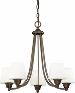 Vaxcel H0102 Calais Venetian Bronze Chandelier Light
