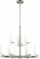 Vaxcel H0123 Glendale Satin Nickel Chandelier Lighting