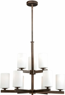 Vaxcel H0124 Glendale Sienna Bronze Lighting Chandelier