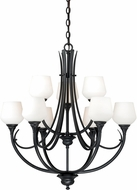Vaxcel H0128 Grafton Oil Rubbed Bronze Hanging Chandelier