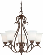 Vaxcel H0154 Hartford Weathered Patina Chandelier Light