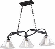Vaxcel H0188 Cinta Contemporary Oil Rubbed Bronze Island Lighting