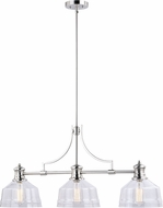 Vaxcel H0221 Beloit Modern Satin Nickel Island Lighting