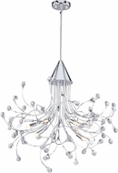 Vaxcel H0226 Astrid Chrome Halogen Chandelier Lamp