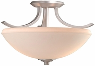 Vaxcel HS-CFU160BN Helsinki Brushed Nickel Finish 10.25  Tall Ceiling Lighting