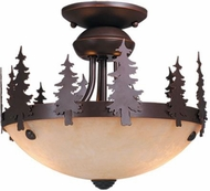 Vaxcel LK55512BBZ-C Yosemite Rustic Burnished Bronze Fan Light Kit
