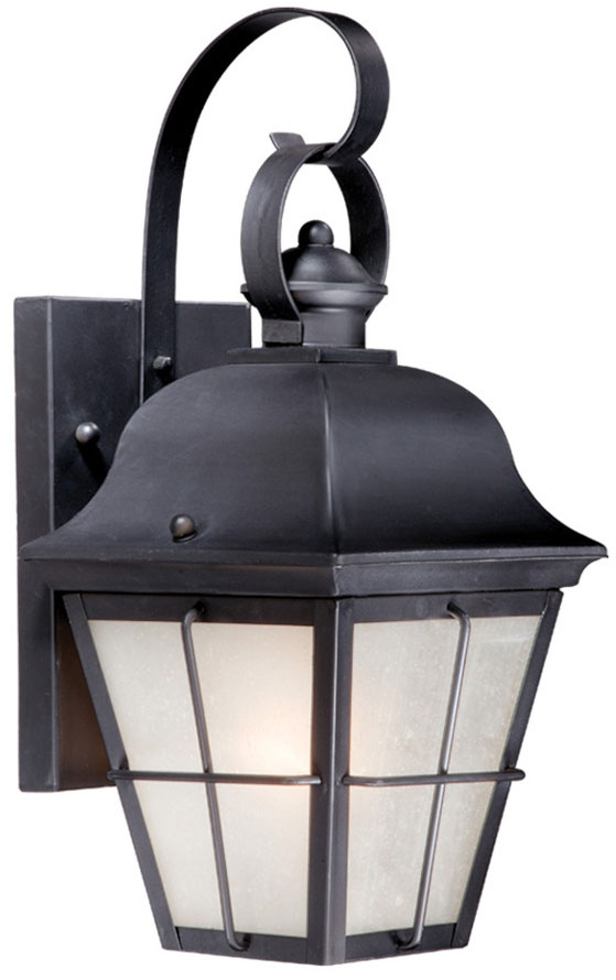 Vaxcel Nh Owd080or New Haven Traditional Oil Rubbed Bronze Finish 9 Wide Outdoor Lighting Wall Sconce
