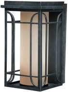 Vaxcel NP-OWD080GT Newport Gold Stone Finish 14 Tall Exterior Wall Mounted Lamp