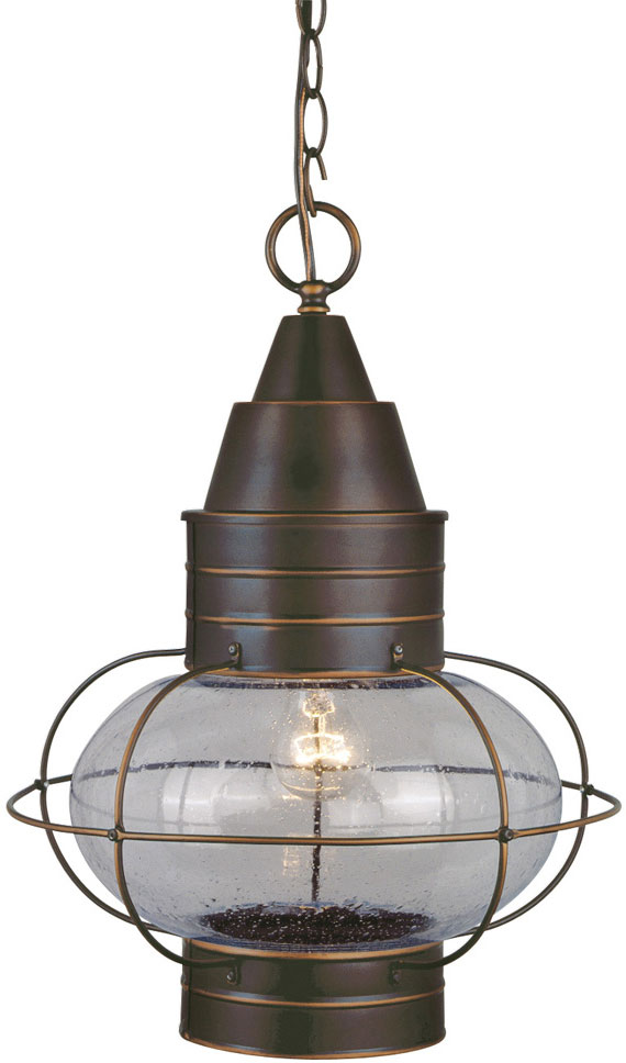 Vaxcel Od21836bbz Chatham Nautical Burnished Bronze Finish 17 5 Nbsp Tall Exterior Pendant Lighting Fixture Loading Zoom