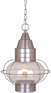 Vaxcel OD21836BN Chatham Nautical Brushed Nickel Finish 13 Wide Outdoor Hanging Pendant Lighting