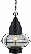 Vaxcel OD21836TB Chatham Nautical Textured Black Finish 17.5  Tall Exterior Hanging Pendant Light