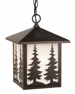 Vaxcel OD33486BBZ Yosemite Burnished Bronze Finish 8  Wide Exterior Pendant Lighting