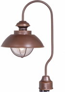 Vaxcel OP21505BBZ Harwich Nautical Burnished Bronze Finish 20.5  Tall Exterior Pole Lighting Fixture