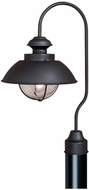Vaxcel OP21505TB Harwich Nautical Textured Black Finish 12.75  Wide Outdoor Post Lighting