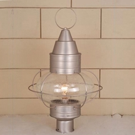 Vaxcel OP21835BN Chatham Nautical Brushed Nickel Finish 13 Wide Outdoor Lamp Post Light