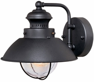 Vaxcel OW21581TB Harwich Nautical Textured Black Finish 8 Tall Exterior Lighting Sconce