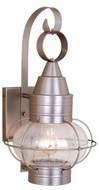 Vaxcel OW21831BN Chatham Nautical Brushed Nickel Finish 14.5 Wide Outdoor Wall Light Fixture