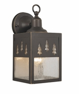 Vaxcel OW24953BBZ Yosemite Burnished Bronze Finish 6  Wide Outdoor Wall Lighting Fixture