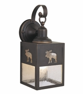 Vaxcel OW24963BBZ Yellowstone Burnished Bronze Finish 12.63  Tall Exterior Wall Light Sconce