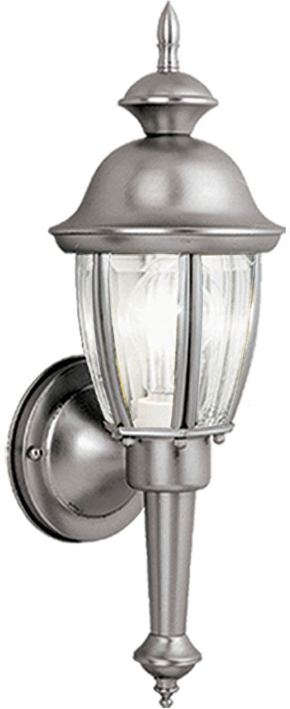 Brushed Nickel Outdoor Wall Lighting