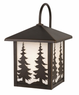 Vaxcel OW33483BBZ Yosemite Burnished Bronze Finish 9 Wide Outdoor Wall Sconce Light