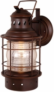 Vaxcel OW37081BBZ Hyannis Retro Burnished Bronze Finish 18  Tall Exterior Wall Mounted Lamp
