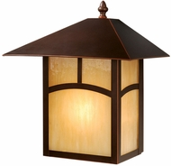 Vaxcel OW37213BBZ Mission Craftsman Burnished Bronze Finish 13  Tall Exterior Wall Lighting Fixture