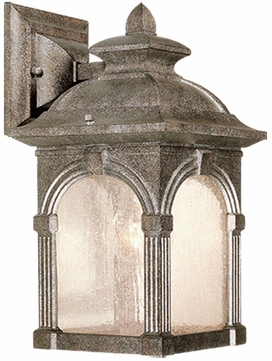 Vaxcel OW38773LS Essex Victorian Lava Stone Finish 13  Tall Exterior Lighting Wall Sconce