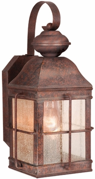 Vaxcel OW39573RBZ Revere Traditional Royal Bronze Finish 14.5 Tall Exterior Wall Light Sconce