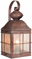 Vaxcel OW39593RBZ Revere Traditional Royal Bronze Finish 10  Wide Outdoor Wall Sconce Light