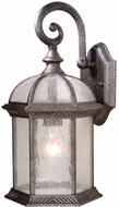 Vaxcel OW39783GT Chateau Traditional Gold Stone Finish 16  Tall Exterior Wall Lighting