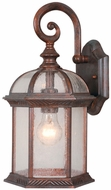 Vaxcel OW39783RBZ Chateau Traditional Royal Bronze Finish 8.5  Wide Outdoor Sconce Lighting
