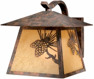 Vaxcel OW50513OA Whitebark Craftsman Olde World Patina Finish 11.5  Tall Exterior Light Sconce