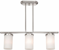 Vaxcel OX-CFD280BN Oxford Contemporary Brushed Nickel Finish 41.25  Tall Island Light Fixture