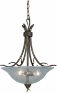 Vaxcel P0064 Monterey Rustic Autumn Patina Finish 20  Wide Ceiling Pendant Light