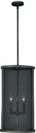 Vaxcel P0101 Wicker Park Warm Pewter Finish 13  Wide Pendant Hanging Light