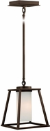 Vaxcel P0111 Contemporary Burnished Bronze Finish 7.5 Wide Mini Ceiling Pendant Light