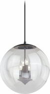 Vaxcel P0126 630 Series Modern Black Iron Entryway Light Fixture