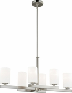 Vaxcel P0127 Glendale Satin Nickel Chandelier Light