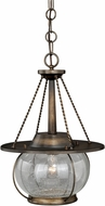 Vaxcel P0137 Jamestown Nautical Parisian Bronze Outdoor Pendant Light Fixture