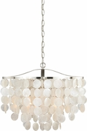 Vaxcel P0139 Elsa Satin Nickel Hanging Pendant Lighting