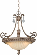 Vaxcel P0143 Avenant French Bronze Drop Lighting