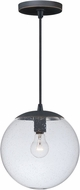 Vaxcel P0163 630 Series Modern Black Iron Mini Hanging Lamp