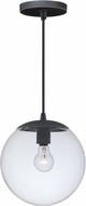 Vaxcel P0166 630 Series Contemporary Black Iron Mini Pendant Lighting Fixture