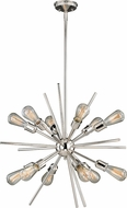 Vaxcel P0196 Estelle Modern Polished Nickel Drop Ceiling Lighting