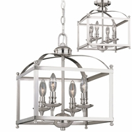Vaxcel P0207 Juliet Satin Nickel Hanging Lamp / Ceiling Lighting Fixture