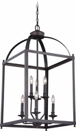 Vaxcel P0220 Juliet Architectural Bronze Foyer Lighting